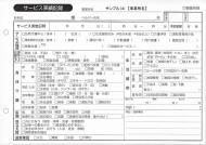 サービス実績記録/介護記録サンプル(4)