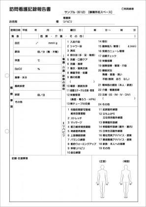 訪問看護記録サンプル(612)