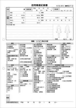 訪問看護記録サンプル(614)