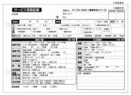 サービス実施記録/介護記録サンプル(303)