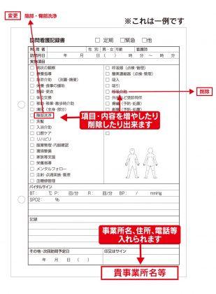 訪問看護記録/看護記録サンプル(608)